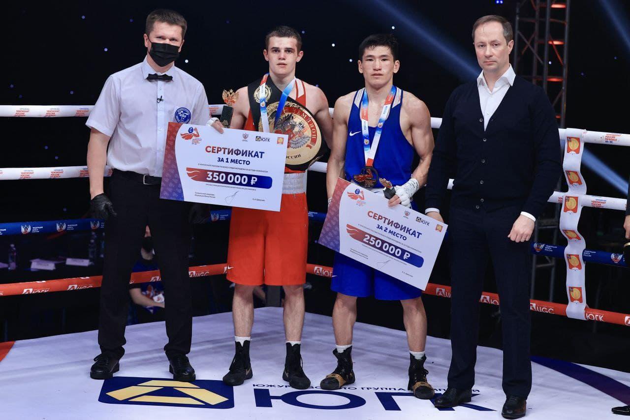 Подмосковные боксёры завоевали две золотые медали на первенстве России в Серпухове