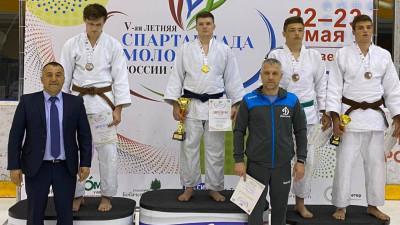 Подмосковные дзюдоисты завоевали 13 медалей на V летней Спартакиаде молодежи