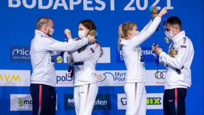 Подмосковные спортсмены завоевали три медали на чемпионате Европы по прыжкам в воду