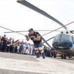 Подмосковный стронгмен попробует отбуксировать 40-тонный вертолёт в Люберцах