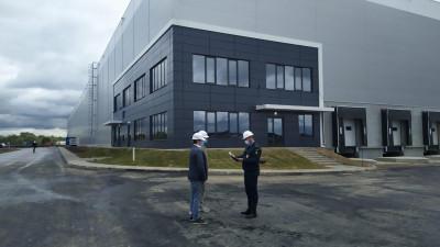 Реконструкция одного из корпусов завершилась в индустриальном парке в Жуковском