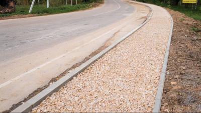 Ремонт дорог и строительство новых тротуаров продолжается в Ленинском городском округе
