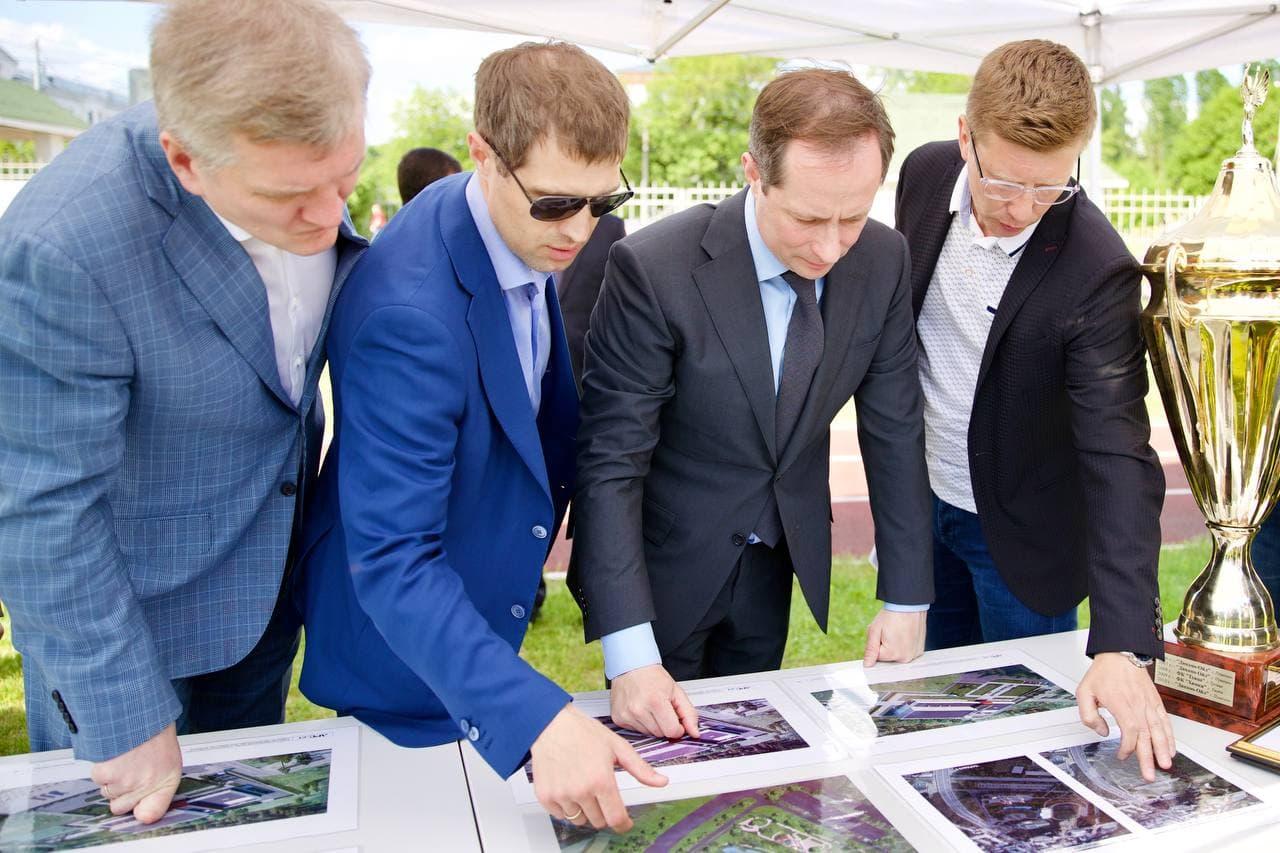 Роман Терюшков о реконструкции стадиона и Дворца культуры в Люберцах: «В ближайшие 3-4 года планируе...