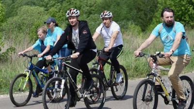 Роман Терюшков поучаствовал в велопробеге «За трезвый образ жизни!» в Жуковском
