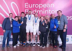 Российские бадминтонисты выиграли две золотые медали на Чемпионате Европы