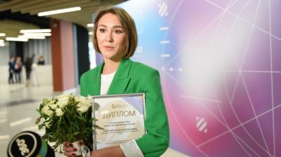 Руководитель проекта РИАМО «Путь-дорога» Елена Богдашкина получила спецприз премии «Медиана»