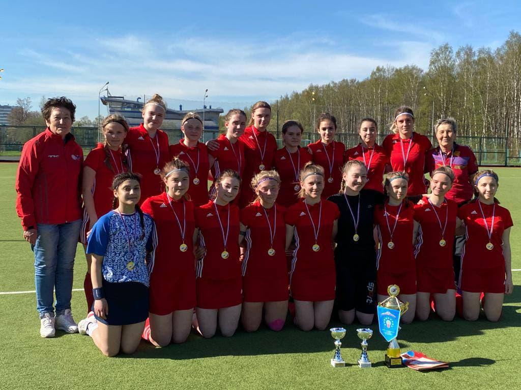 Сборные девушек и юношей из Подмосковья стали призёрами первенства России по хоккею на траве