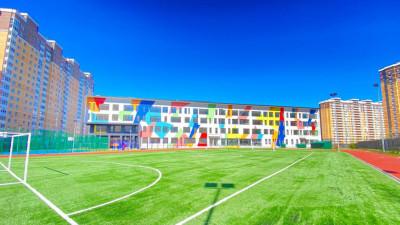 Школу на 1,1 тыс. мест построили в Люберцах