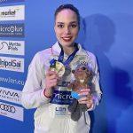 Спортсменка из Подмосковья стала обладательницей золотой награды чемпионата Европы по синхронному плаванию