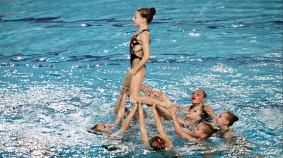 Спортсменка из Подмосковья завоевала золото чемпионата Европы по синхронному плаванию