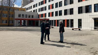 Строительство школьной пристройки 600 мест завершилось в Балашихе