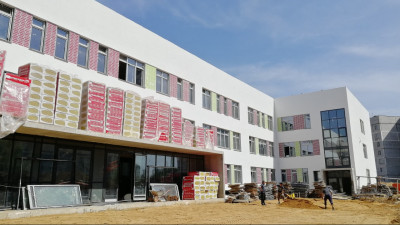 Строительство школы на 825 мест во Фрязине ведется в графике