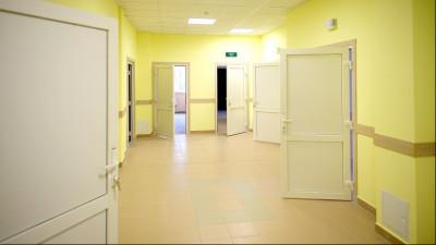 Здание детской поликлиники в Подольске