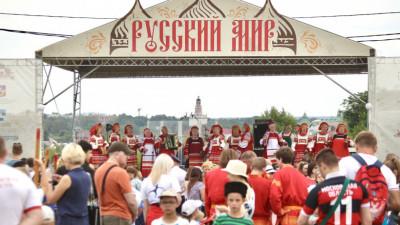 V Фестиваль «Русский мир» пройдет в Сергиевом Посаде 12 и 13 июня