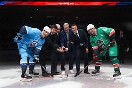 В Сочи стартовал финальный этап X Всероссийского фестиваля по хоккею среди любительских команд
