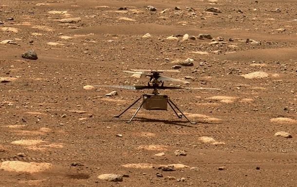 Вертолет NASA совершил шестой полет на Марсе
