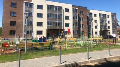 Завершается строительство домов для 329 переселенцев из аварийного жилья в Подольске