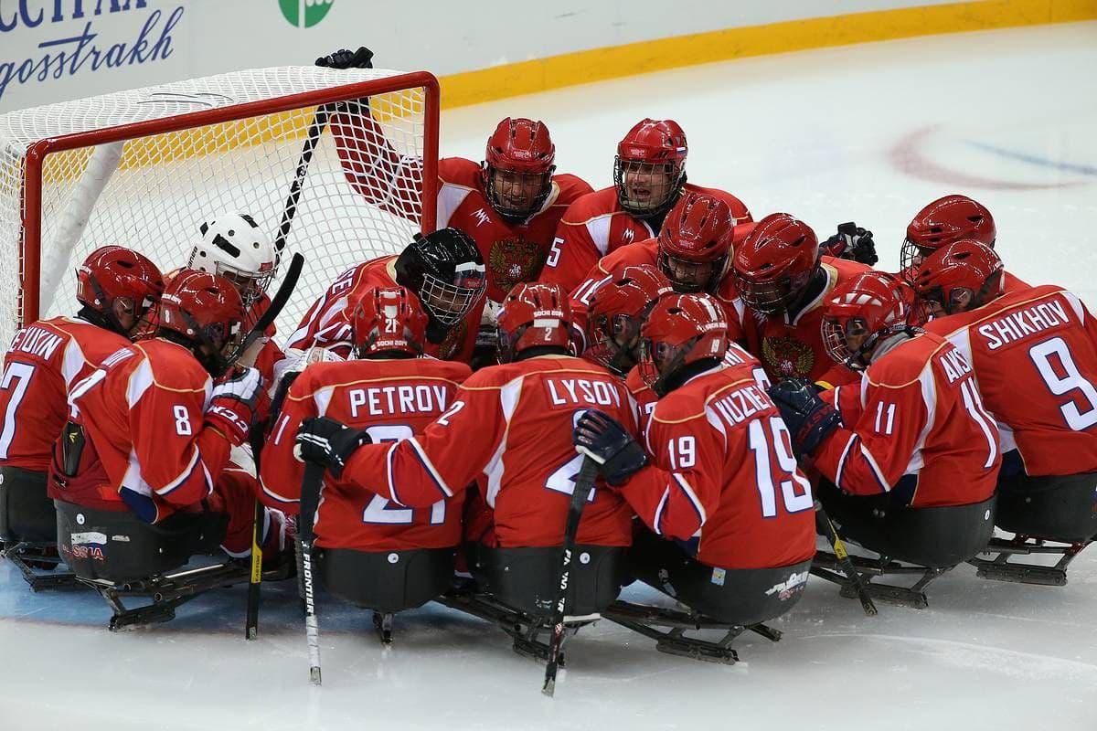 6 подмосковных следж-хоккеистов в составе сборной России сыграют на чемпионате мира 2021 года