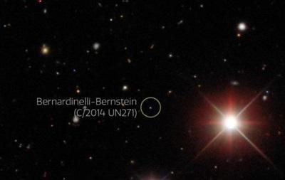 Астрономы нашли гигантскую комету на краю Солнечной системы