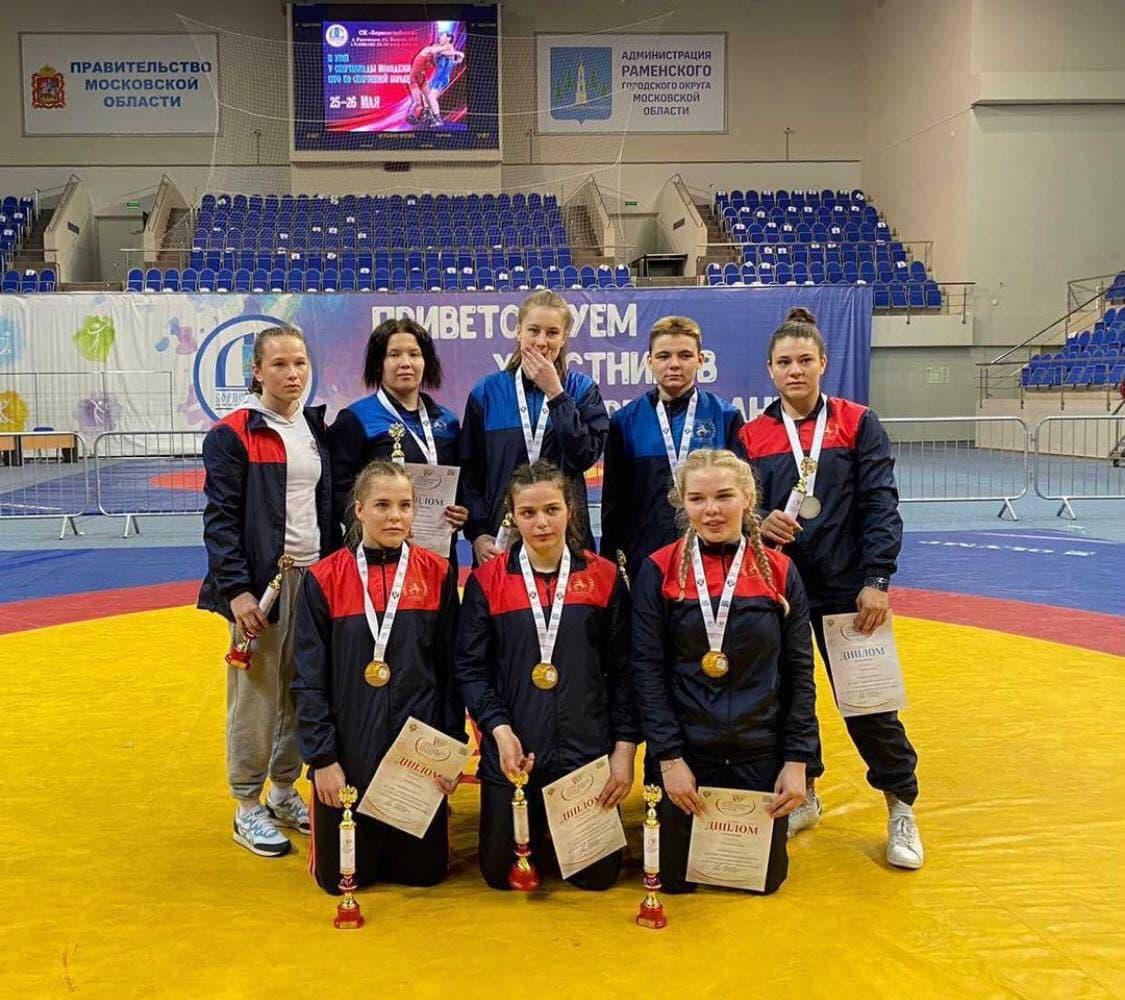 Атлеты из Московской области победили на II этапе V летней Спартакиады молодежи по вольной борьбе