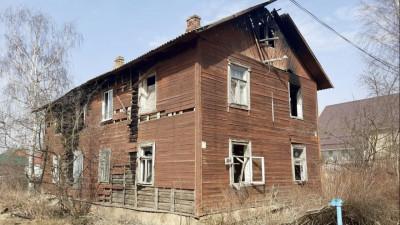 Аварийный дом снесли в Талдоме