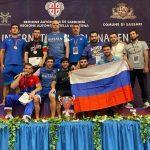 Борцы из Подмосковья завоевали 7 медалей на международном турнире в Италии