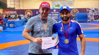 Борцы из Подмосковья завоевали 7 медалей на международном турнире