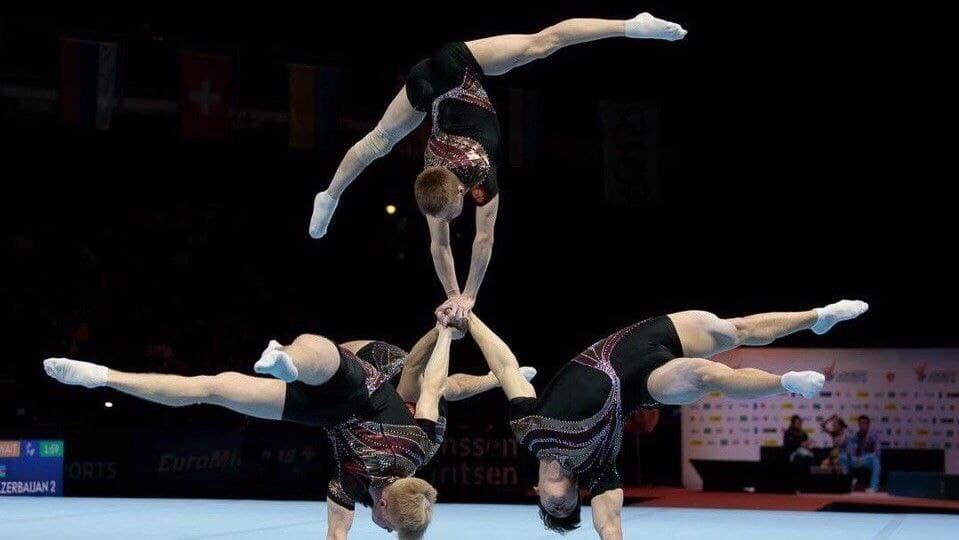 Девять представителей Подмосковья примут участие в чемпионате мира по спортивной акробатике