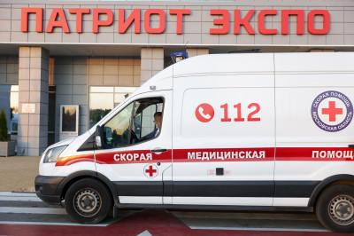 Губернатор проверил работу временного госпиталя для лечения Covid-пациентов в парке «Патриот»