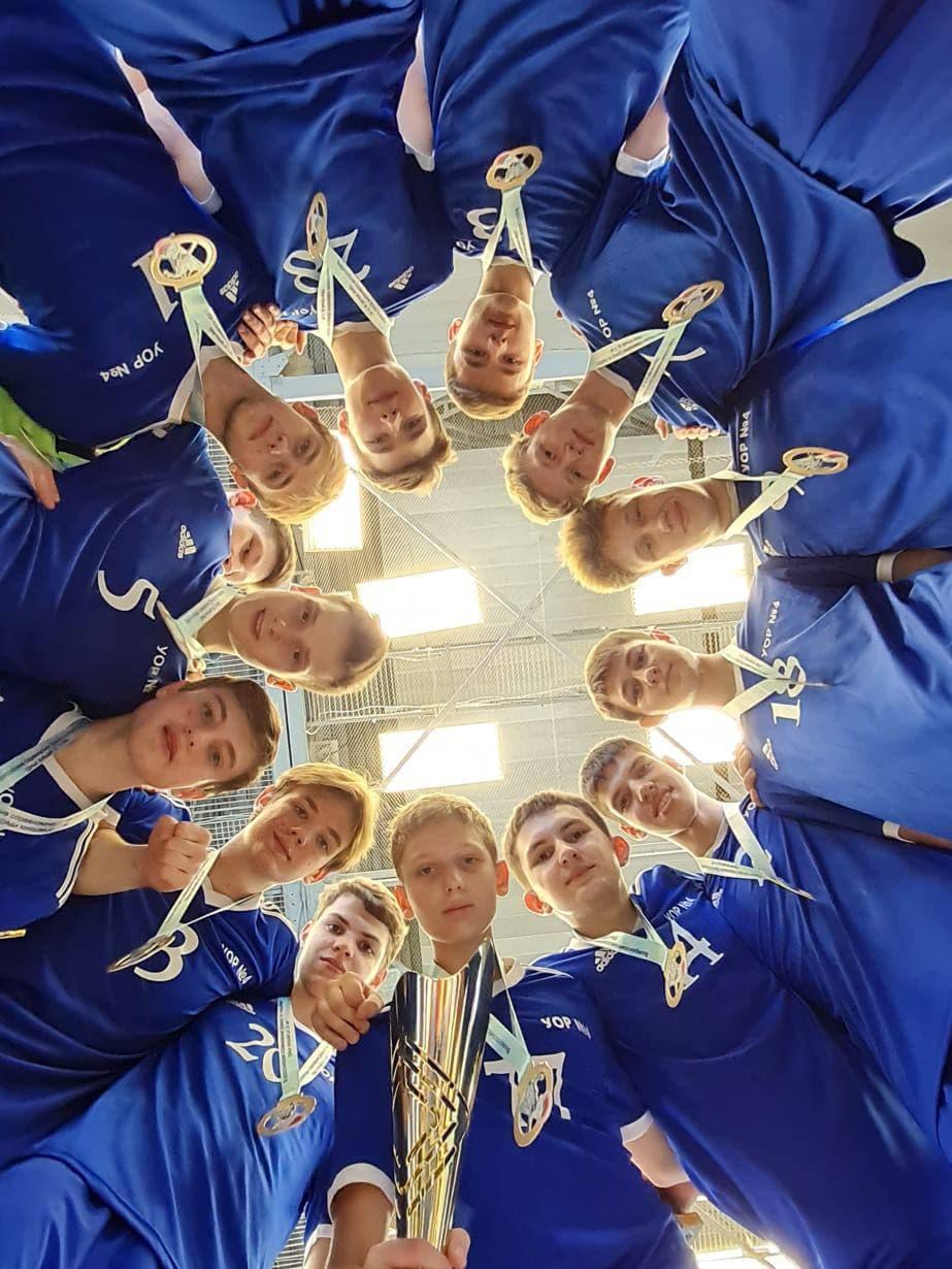 Юноши из Подмосковья стали победителями всероссийских соревнований по гандболу