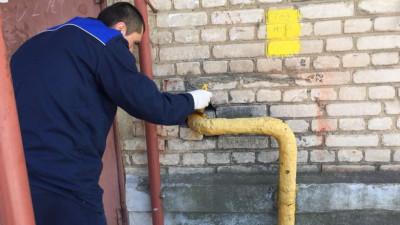 Газовая труба в жилом доме