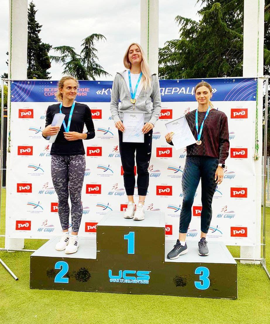 Легкоатлетки из Подмосковья завоевали две медали на всероссийских соревнованиях
