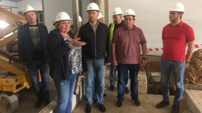 Монтаж и наладка оборудования начались на заводе в Сырном кластере в Подмосковье