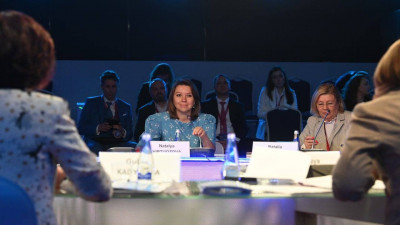 Наталья Виртуозова выступила на сессии креативного бизнеса