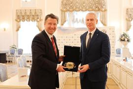 Олег Матыцин и Посол Германии обсудили перспективы спортивного сотрудничества
