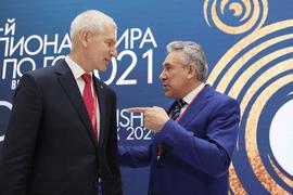 Олег Матыцин поприветствовал участников и гостей Чемпионата мира по Го