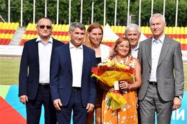 Олег Матыцин принял участие в церемонии открытия Чемпионата России по лёгкой атлетике в Чебоксарах