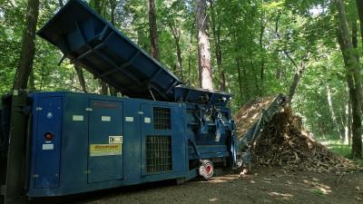 Почти 100 кубометров сухостоя переработали в Раменском округе