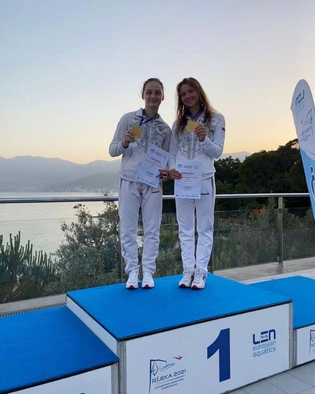 Подмосковная спортсменка победила на первенстве Европы по прыжкам в воду