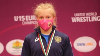 Подмосковная спортсменка победила на первенстве Европы по вольной борьбе