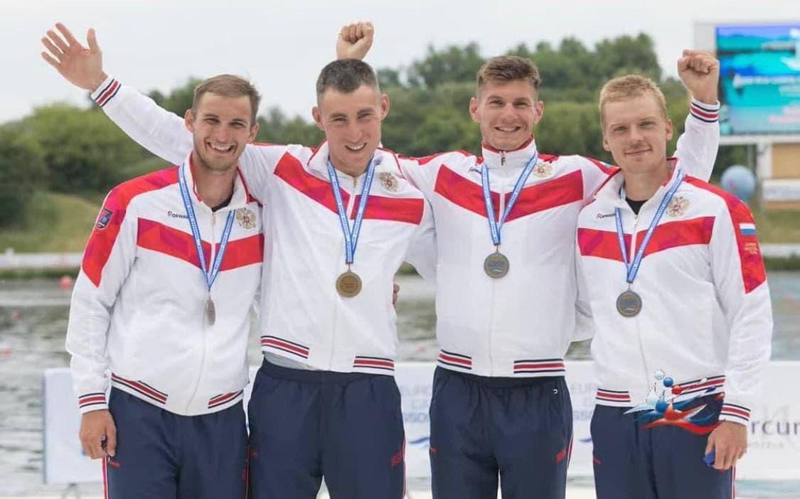 Подмосковные гребцы завоевали бронзовые медали на чемпионате Европы по гребле на байдарках и каноэ