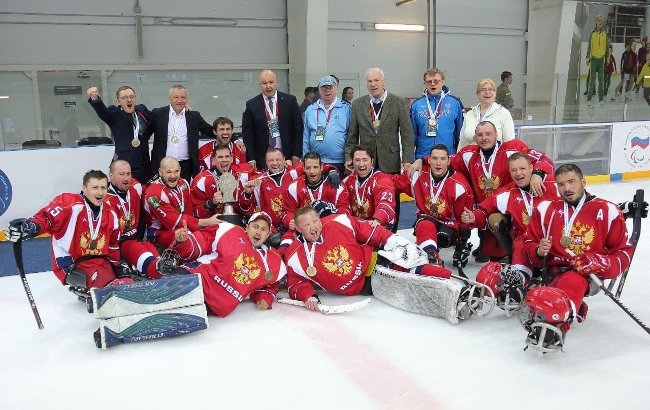 Подмосковные следж-хоккеисты в составе сборной России стали победителями Кубка Континента