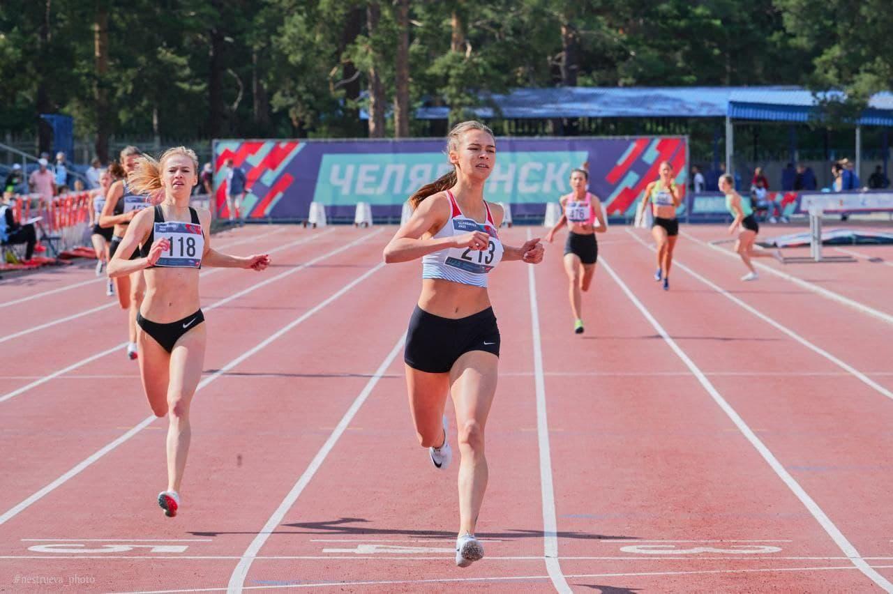 Подмосковные спортсмены стали лучшими на юниорском первенстве России по лёгкой атлетике