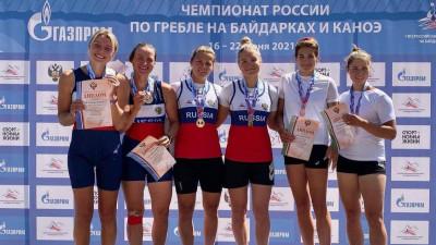 Подмосковные спортсмены завоевали 4 медали на чемпионате России по гребле