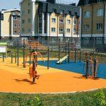 Роман Терюшков и основатель фонда «Обнажённые сердца» Наталья Водянова открыли спортивный инклюзивный парк