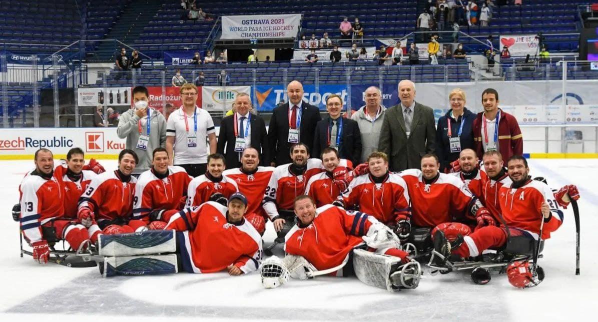 Следж-хоккеисты «Феникса» помогли сборной России завоевать бронзовые медали чемпионата мира