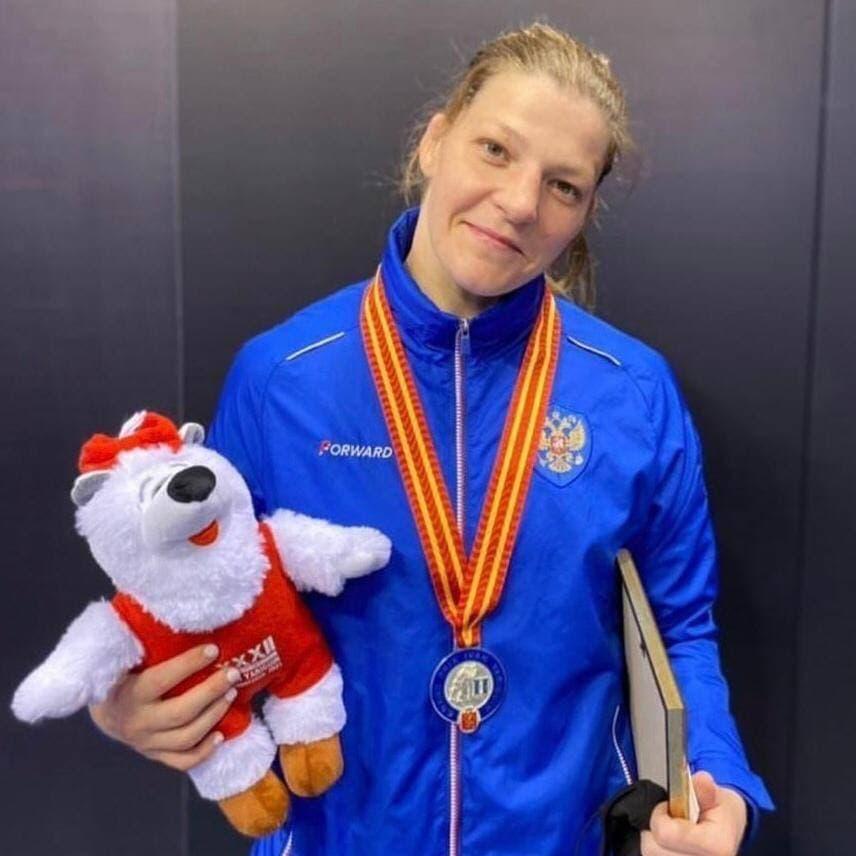 Спортсменка из Подмосковья стала серебряной медалисткой международного турнира по вольной борьбе