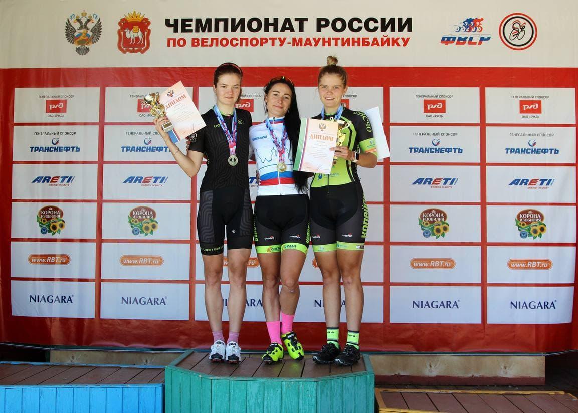 Спортсменки из Подмосковья завоевали золото и серебро чемпионата России по велоспорту