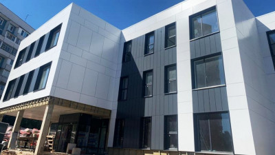 Строительство Дома культуры завершается в Одинцовском округе
