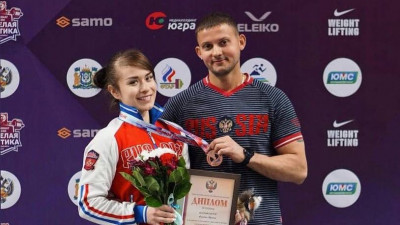 Тяжелоатлетка из Подмосковья завоевала бронзу чемпионата России